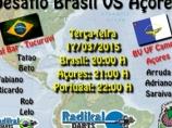 Imagem da notícia: Desafio Brasil vs Açores