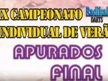 Imagem da notícia: IX Campeonato Individual de Verão