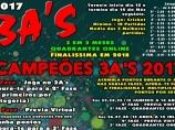Imagem da notícia: Campeonato Campeões 3 A