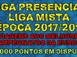 Imagem da notícia: Liga Presencial e Liga Mista 2017/2018