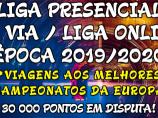 Imagem da notícia: Liga Presencial 3ª Via / Liga Online 19/20